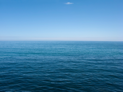 Blue Sea View by Marholev